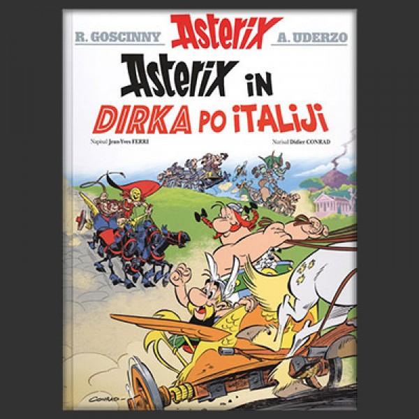 Asterix in dirka po Italiji