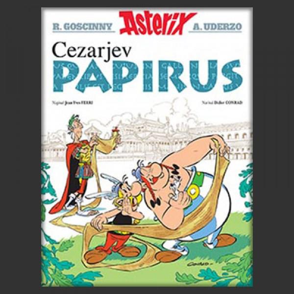 Asterix - Cezarjev papirus