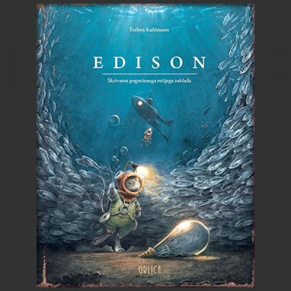 Edison : skrivnost pogrešanega mišjega zaklada