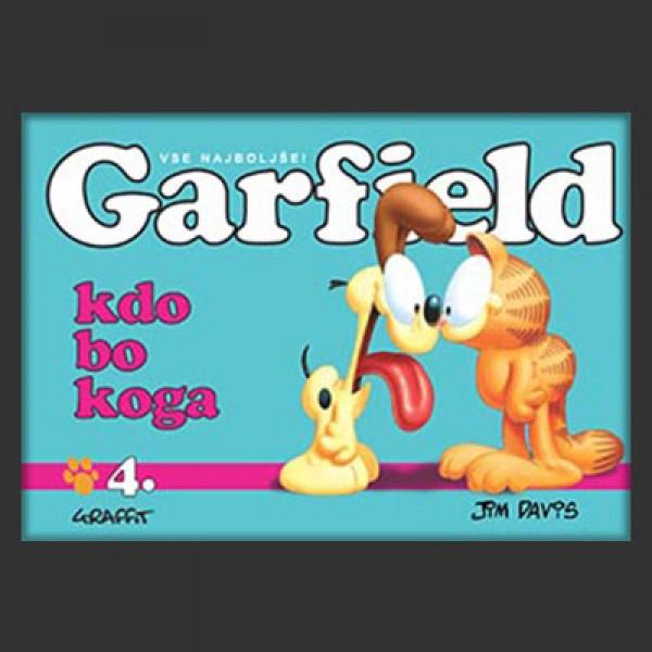 Garfield; Kdo bo koga