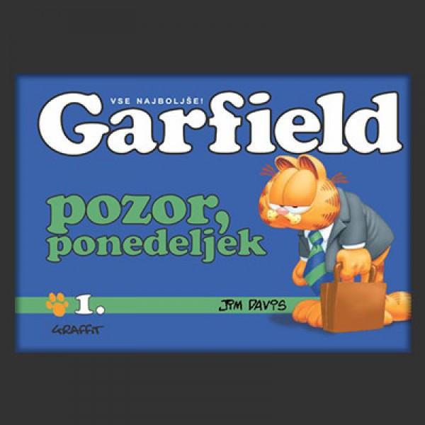 Garfield; Pozor, ponedeljek