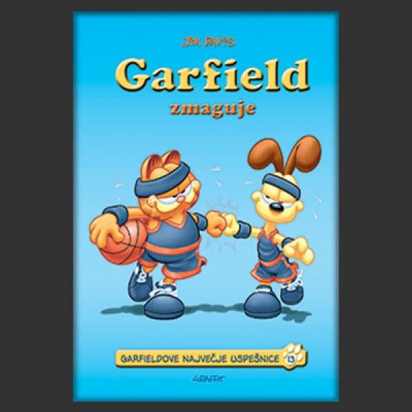 Garfield zmaguje