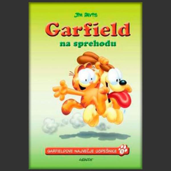 Garfield na sprehodu
