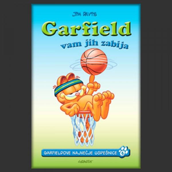 Garfield vam jih zabija