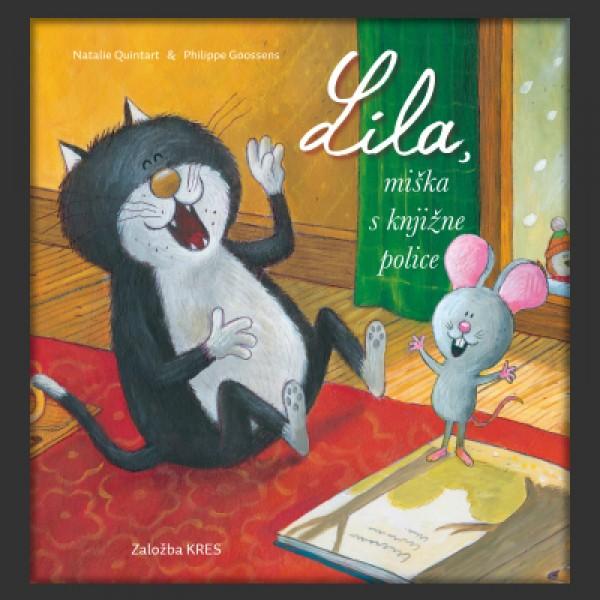 Lila, miška s knjižne police