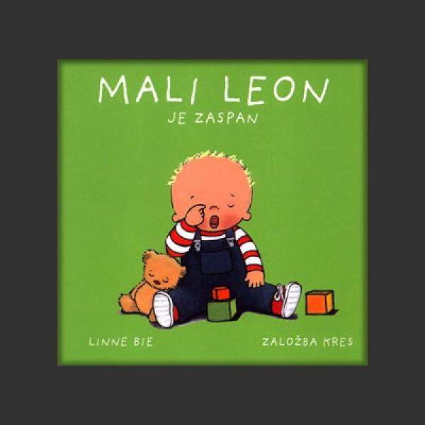 MALI LEON JE ZASPAN