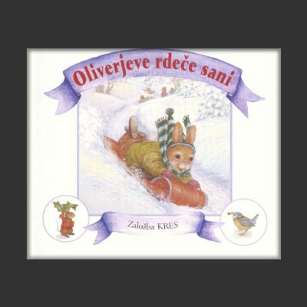 Oliverjeve rdeče sani